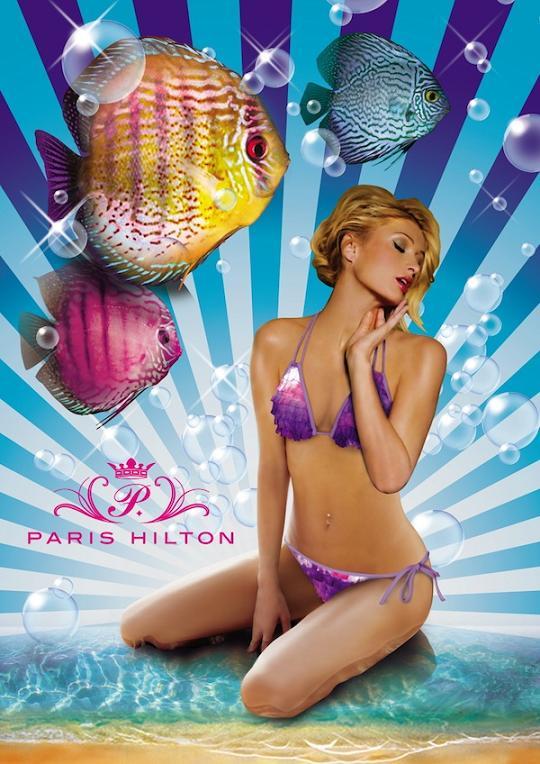 Paris Hilton Lingerie & Bikini Promo