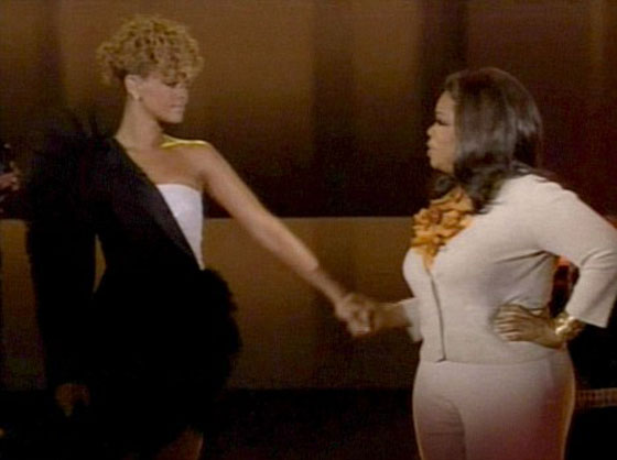 Rihanna w sukience Victor & Rolf