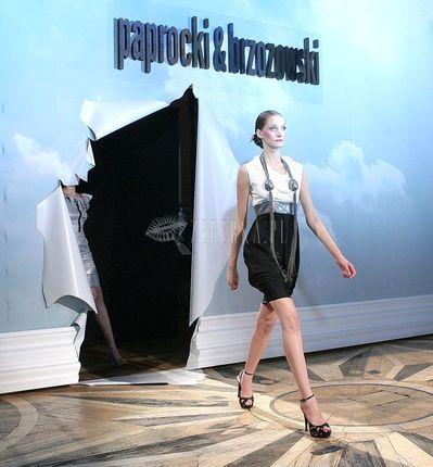 Pokaz mody Paprocki & Brzozowski