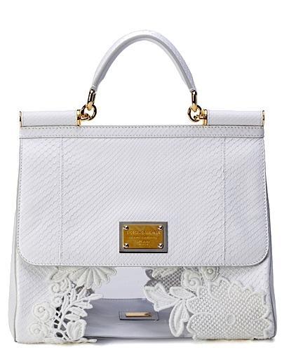 цветочная сумка Dolce&Gabbana.