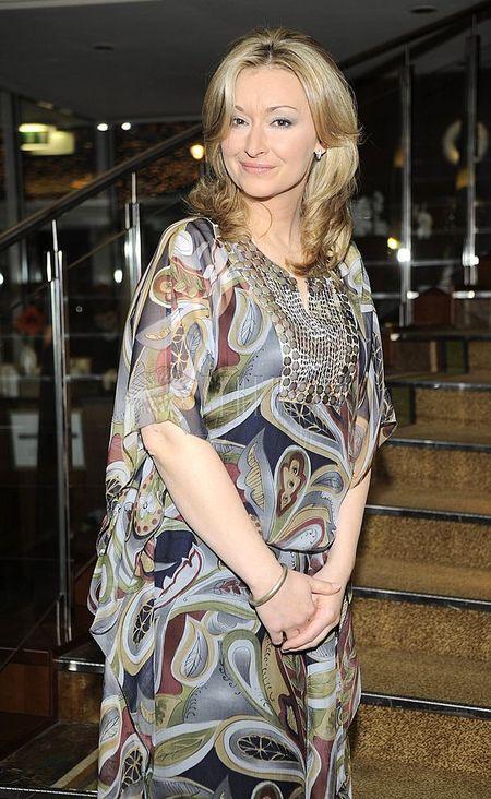 Martyna Wojciechowska we wzorzystej tunice