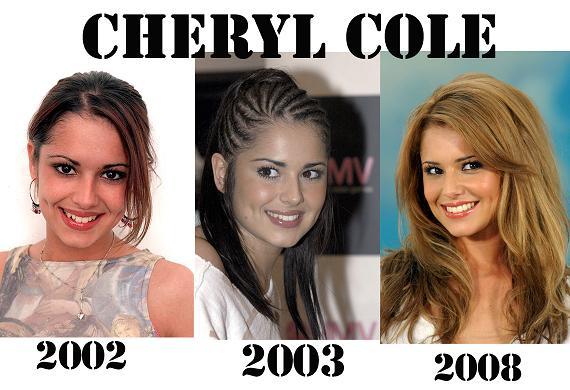 Cheryl Cole: kiedyś i dziś