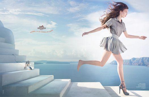 Karlie Kloss reklamuje Hermesa