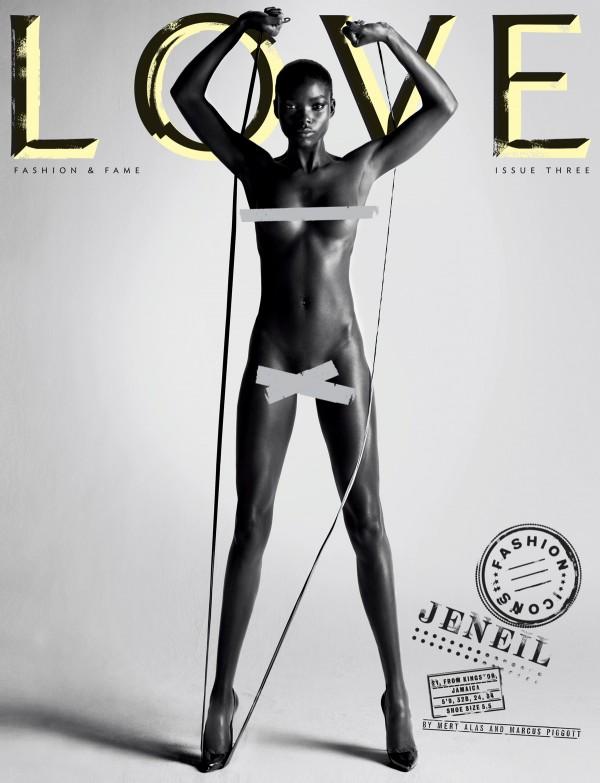 Okładka magazynu Love