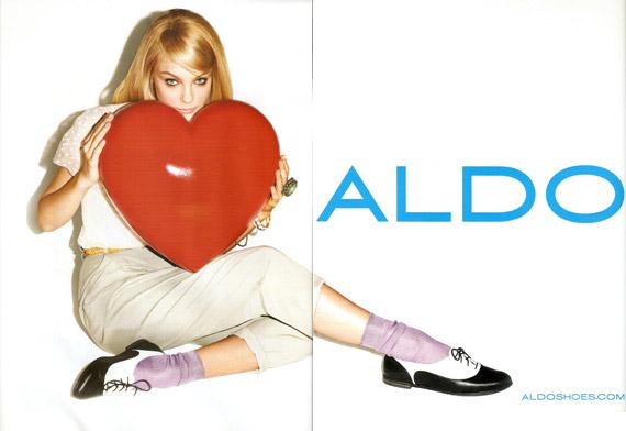 Jessica Stam dla ALDO