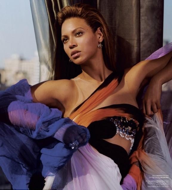 Beyonce w sesji dla magazynu V