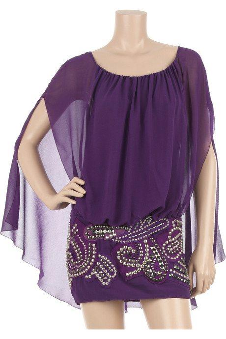 Mini sukienka z ćwieczkami od Balmain