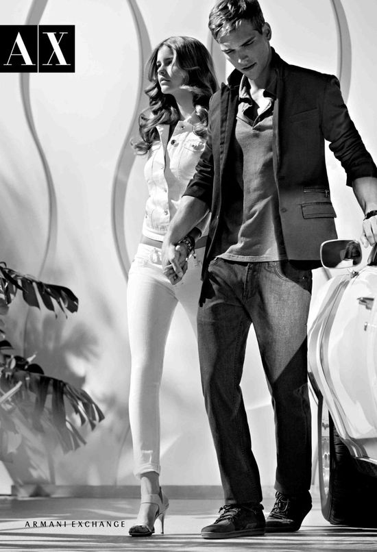 Barbara Palvin twarzą Armani Exchange (FOTO)