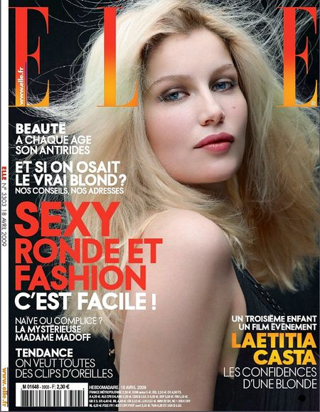 Laetitia Casta w Elle