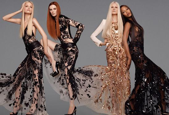 Supermodelki w kampanii Roberto Cavalli (VIDEO)