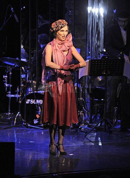 Olga Bończyk jak kameleon