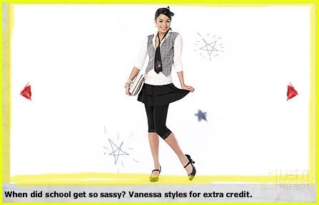 Vanessa Hudgens dla Sears