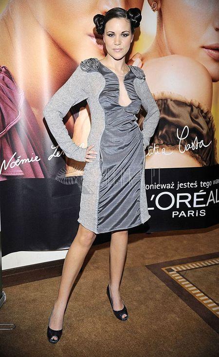 Dominika Gawęda w roli modelki