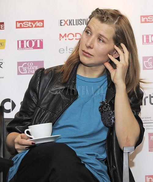 Katarzyna Herman bez stylizacji