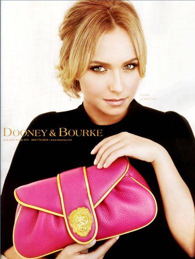 Hayden Panettiere reklamuje torebki Dooney & Burke