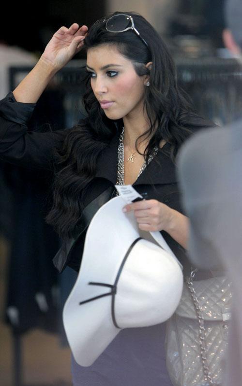 Kim Kardashian ukradła logo?