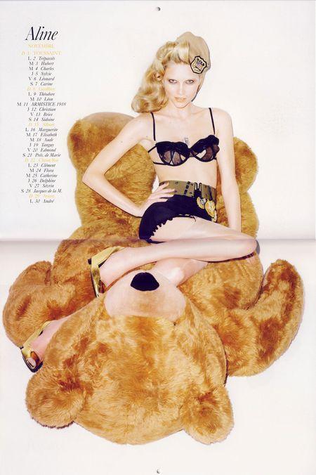 Kalendarz Vogue na rok 2009