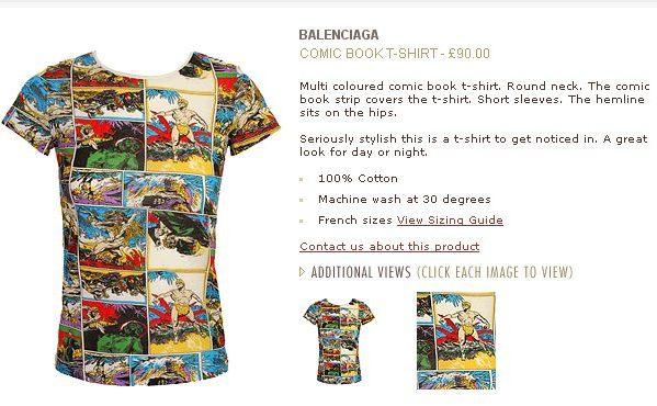 T-shirt dla miłośniczek komiksów