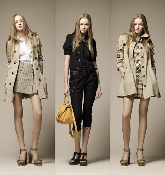 Burberry Blue Label S/S 2011