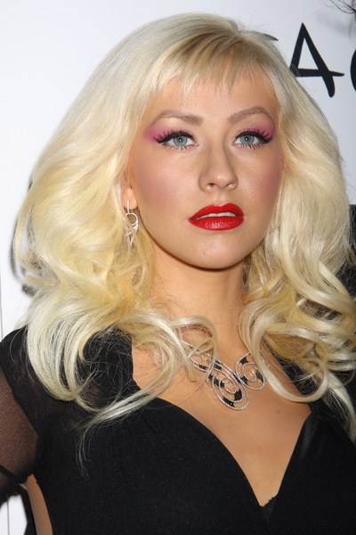 Aguilera nie rezygnuje z ostrego makijażu