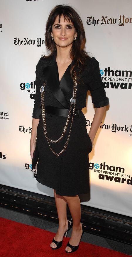 Penelope Cruz w płaszczu Lanvin