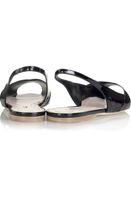 Płaskie sandały od  Miu Miu
