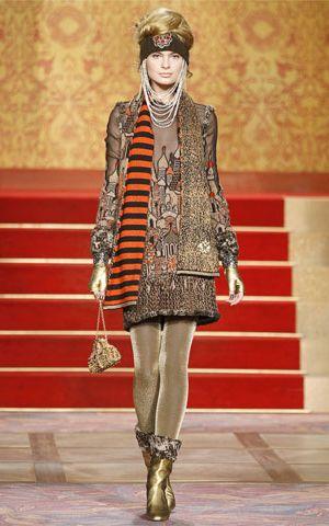 Chanel's kolekcja Paris-Moscou Pre-Fall 2009