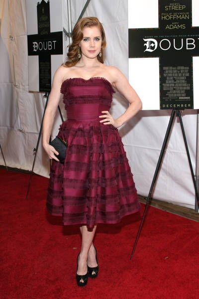 Amy Adams w sukience Diora