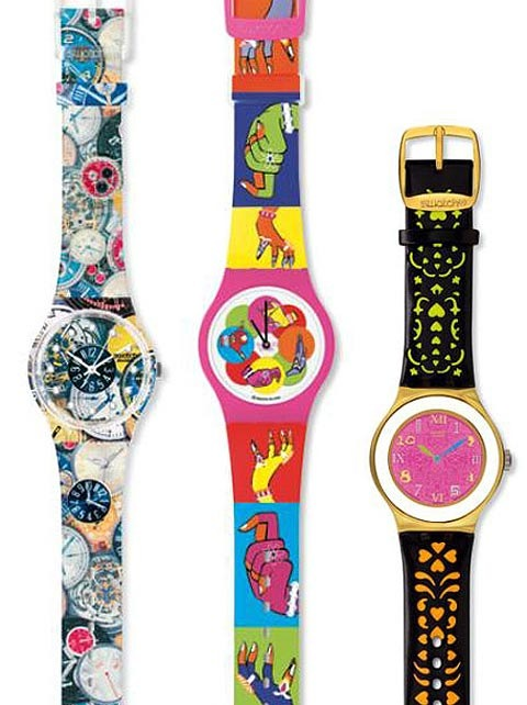 Manish Arora dla Swatch
