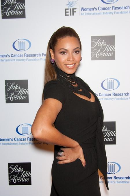Beyonce pokazuje, jak skrócić sobie szyję