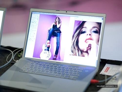 Lindsay Lohan dla Fornarina