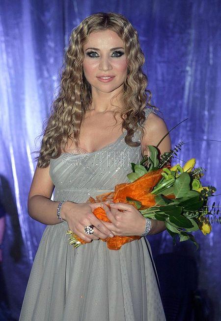 """Lidia Kopania w swojej """"szczęśliwej sukience"""""""