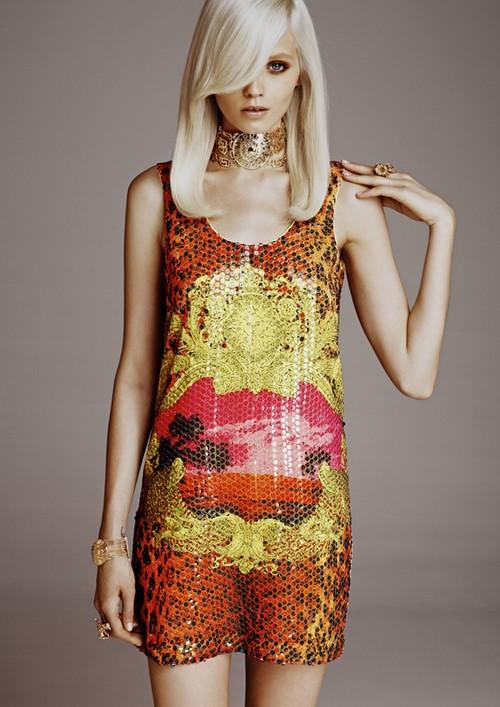 Lookbook H&M dla Versace