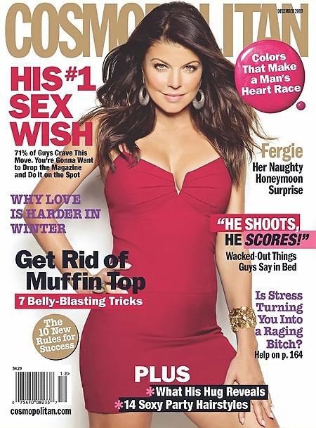 Fergie na okładce Cosmopolitan