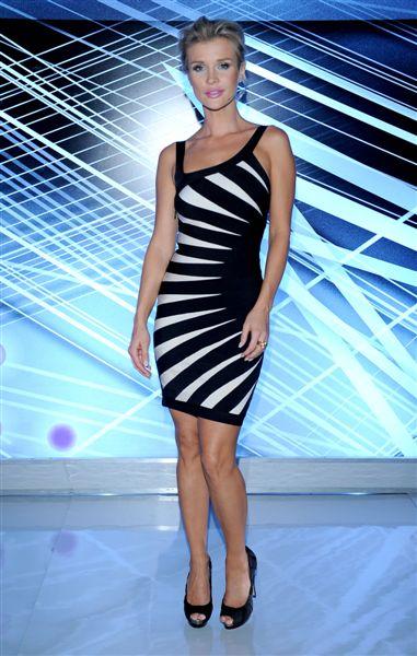 Joanna Krupa w sukience Herve Leger