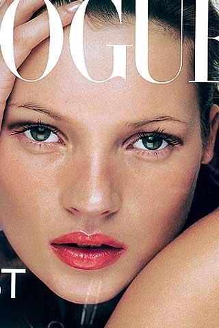 Kate+Moss+ulubienicą+Vogue