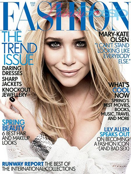 "Mary-Kate Olsen dla magazynu ""Fashion"""