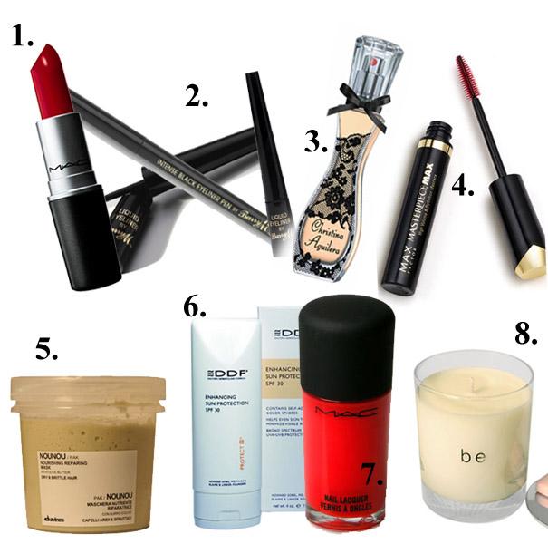 Kosmetyczki gwiazd: Christina Aguilera
