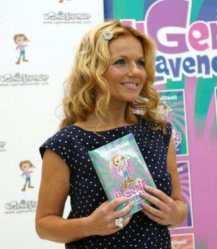 Geri Halliwell zdobi włosy na dziecięco