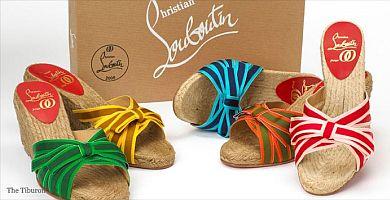 Louboutin proponuje buty na plecionej podeszwie