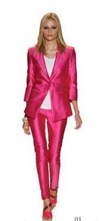 Heidi Klum na różowo