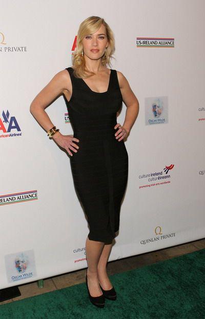 Kate Winslet znowu w sukni Herve Leger