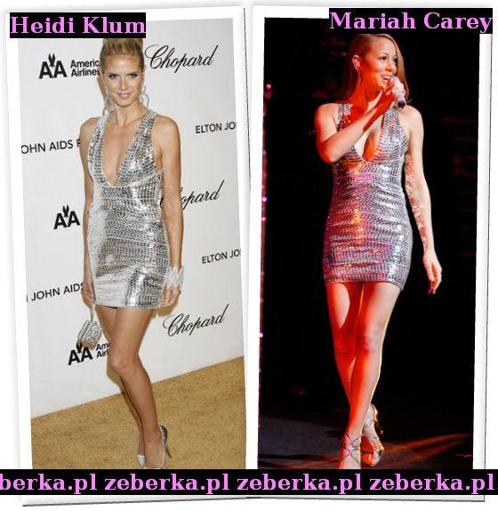 Heidi Klum czy Mariah Carey