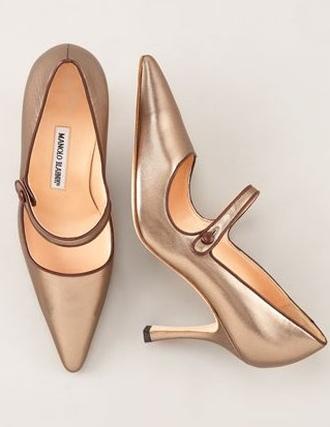 Metaliczne buty nadal modne