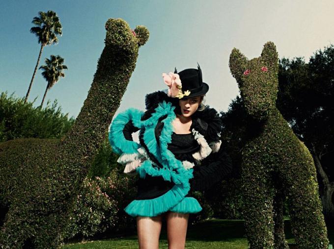 Chloe Sevigny dla Harper's Bazaar