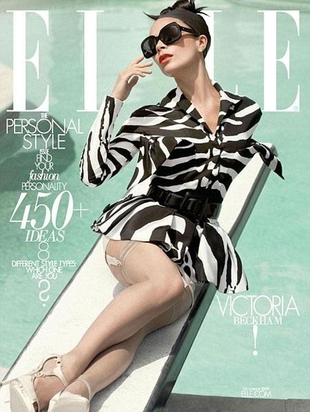 Victoria Beckham w Elle