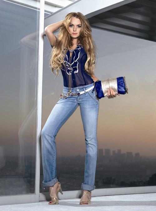 Lindsay Lohan w kampanii Fornarina