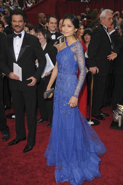 Frida Pinto zachwyciło w sukni od Galliano