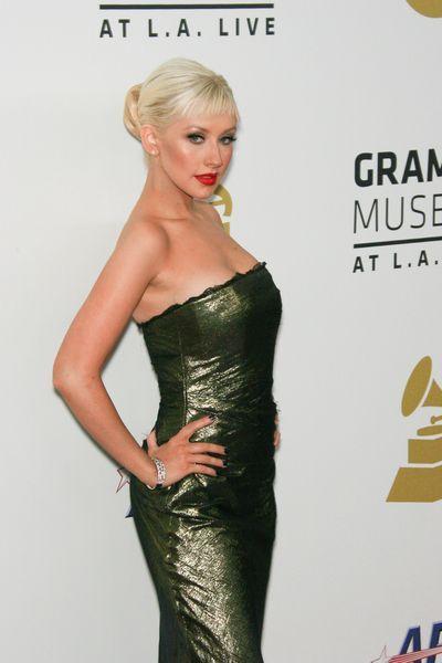 Christina+Aguilera+na+Grammy