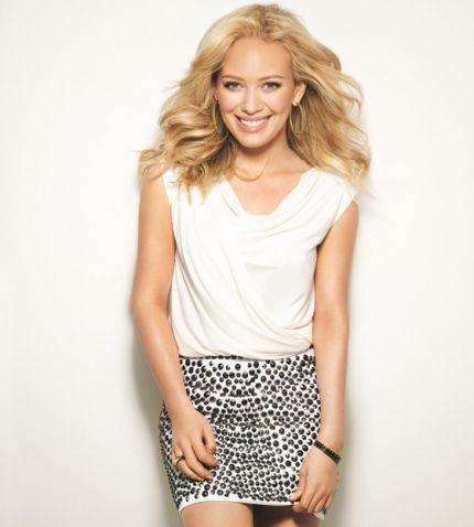 Hilary Duff dla Lucky Magazine